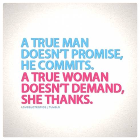 A true man quote