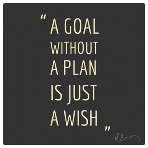 A Goal Without a Plan is Just a Wish quotes