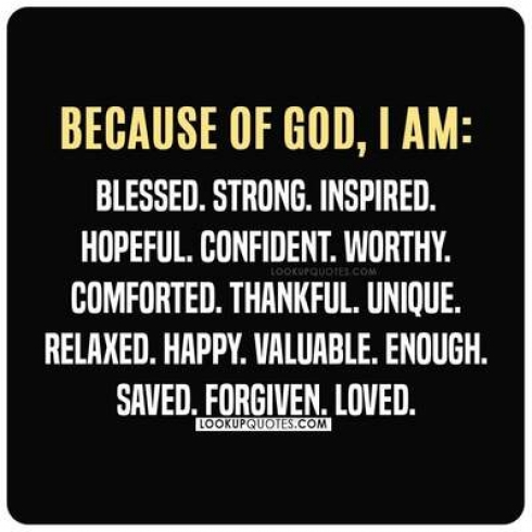 being blessed god quotes