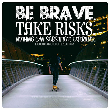 being brave quotes