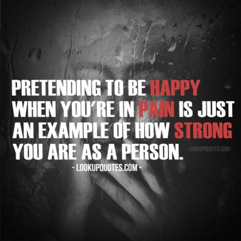 being in pain quotes