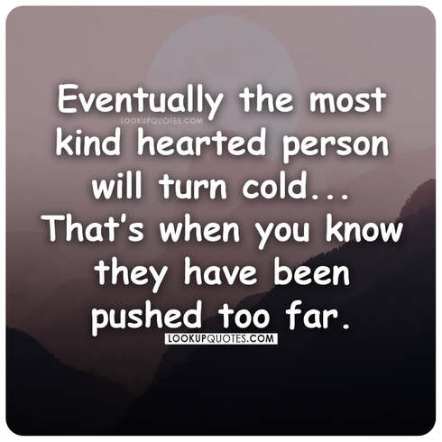 cold hearted quotes