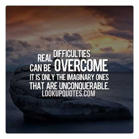 difficulities quotes