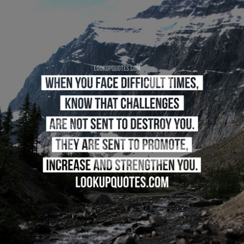 difficult times quotes