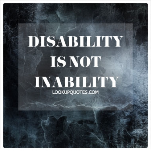 Disability is NOT Inability quotes