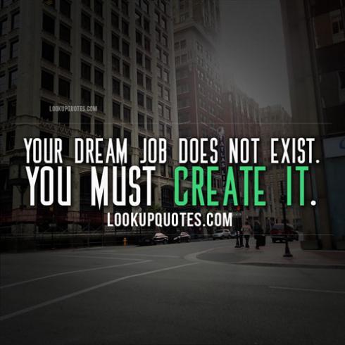 dream job quotes