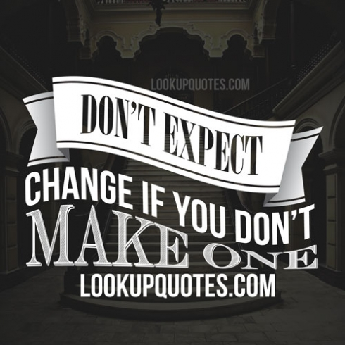 expecting change quotes