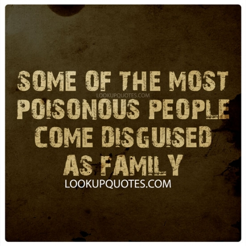 family negative love quotes