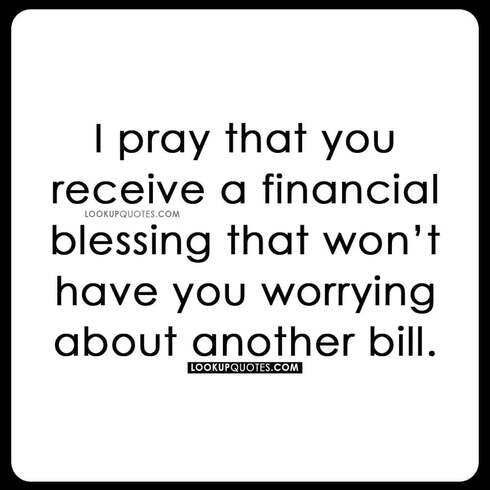 financial blessing quotes