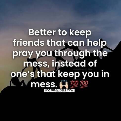 friend that prays quotes