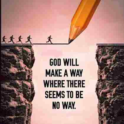 Be Patient God Will Make A Way