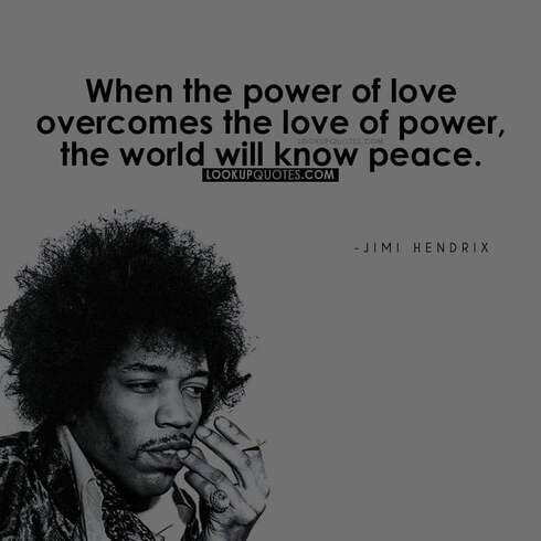 jimi hendrix lyrics quotes