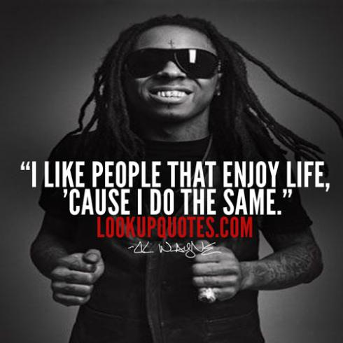 Lil Wayne Be Like Quotes