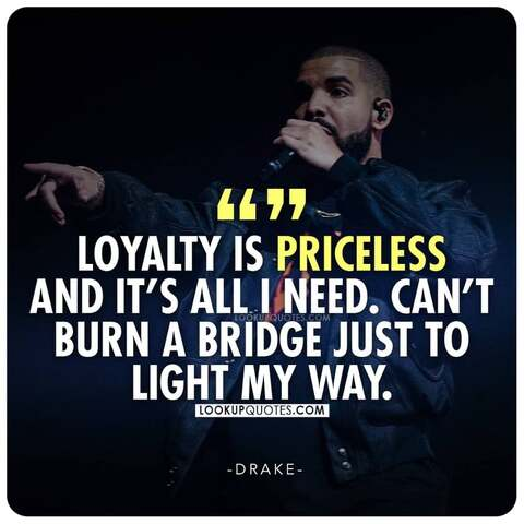 loyalty is priceless quotes