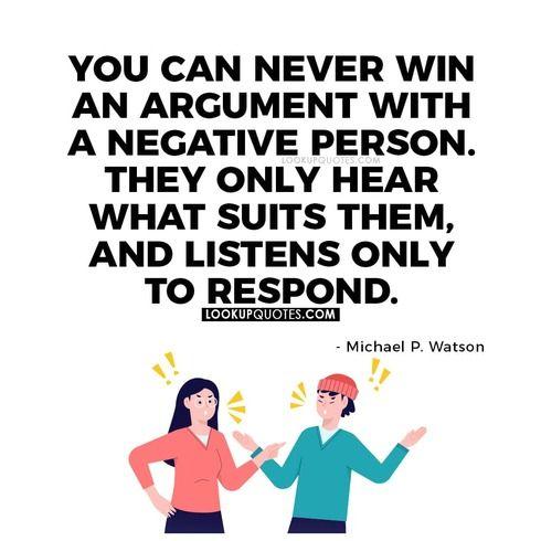 negative person quote