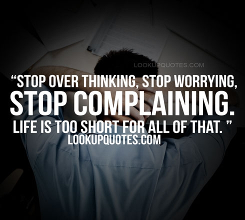 stop worring quotes