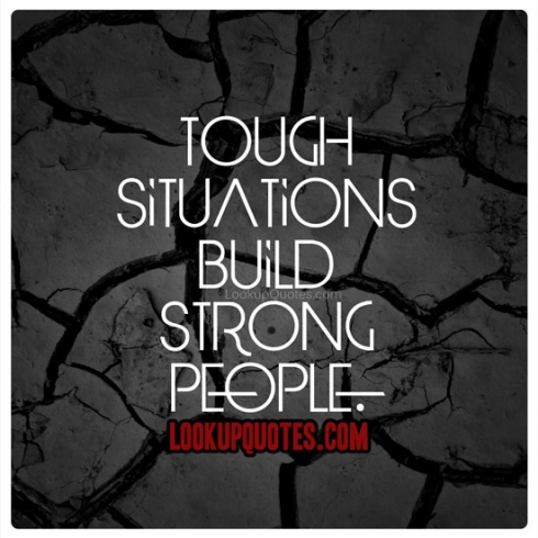 being strong struggling quotes