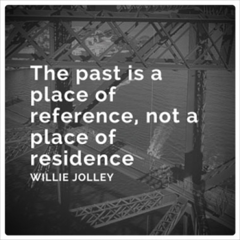 The Past is a Place of Reference, Not a Place