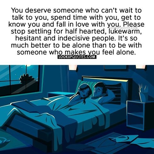 You deserve someone who can't wait to talk to you